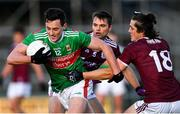 15 November 2020; Diarmuid O'Connor of Mayo in action against Kieran Molloy of Galway during the Connacht GAA Football Senior Championship Final match between Galway and Mayo at Pearse Stadium in Galway. Photo by Ramsey Cardy/Sportsfile