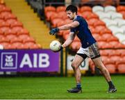 15 November 2020; Thomas Galligan of Cavan during the Ulster GAA Football Senior Championship Semi-Final match between Cavan and Down at Athletic Grounds in Armagh. Photo by Philip Fitzpatrick/Sportsfile