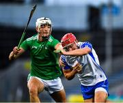 15 November 2020; Jack Prendergast of Waterford in action against Kyle Hayes of Limerick during the Munster GAA Hurling Senior Championship Final match between Limerick and Waterford at Semple Stadium in Thurles, Tipperary. Photo by Ray McManus/Sportsfile