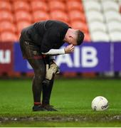 15 November 2020; Rory Burns of Down during the Ulster GAA Football Senior Championship Semi-Final match between Cavan and Down at Athletic Grounds in Armagh. Photo by Philip Fitzpatrick/Sportsfile