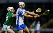 15 November 2020; Shane Fives of Waterford in action against Aaron Gillane of Limerick during the Munster GAA Hurling Senior Championship Final match between Limerick and Waterford at Semple Stadium in Thurles, Tipperary. Photo by Brendan Moran/Sportsfile
