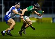 15 November 2020; Graeme Mulcahy of Limerick in action against Jamie Barron of Waterford during the Munster GAA Hurling Senior Championship Final match between Limerick and Waterford at Semple Stadium in Thurles, Tipperary. Photo by Brendan Moran/Sportsfile