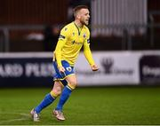 15 November 2020; Dean Byrne of Longford Town celebrates following the SSE Airtricity League Play-off Final match between Shelbourne and Longford Town at Richmond Park in Dublin. Photo by Harry Murphy/Sportsfile