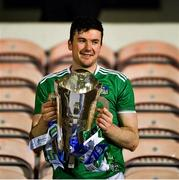 15 November 2020; Limerick captain Declan Hannon lifts the cup after the Munster GAA Hurling Senior Championship Final match between Limerick and Waterford at Semple Stadium in Thurles, Tipperary. Photo by Ray McManus/Sportsfile
