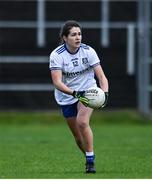 15 November 2020; Shauna Coyle of Monaghan during the TG4 All-Ireland Senior Ladies Football Championship Round 3 match between Galway and Monaghan at Páirc Seán Mac Diarmada in Carrick-on-Shannon, Leitrim. Photo by Sam Barnes/Sportsfile