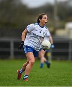15 November 2020; Laura McEneaney of Monaghan during the TG4 All-Ireland Senior Ladies Football Championship Round 3 match between Galway and Monaghan at Páirc Seán Mac Diarmada in Carrick-on-Shannon, Leitrim. Photo by Sam Barnes/Sportsfile