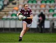 15 November 2020; Ailbhe Davoren of Galway during the TG4 All-Ireland Senior Ladies Football Championship Round 3 match between Galway and Monaghan at Páirc Seán Mac Diarmada in Carrick-on-Shannon, Leitrim. Photo by Sam Barnes/Sportsfile