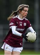15 November 2020; Tracey Leonard of Galway during the TG4 All-Ireland Senior Ladies Football Championship Round 3 match between Galway and Monaghan at Páirc Seán Mac Diarmada in Carrick-on-Shannon, Leitrim. Photo by Sam Barnes/Sportsfile