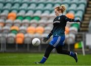 15 November 2020; Edel Corrigan of Monaghan during the TG4 All-Ireland Senior Ladies Football Championship Round 3 match between Galway and Monaghan at Páirc Seán Mac Diarmada in Carrick-on-Shannon, Leitrim. Photo by Sam Barnes/Sportsfile
