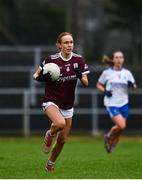 15 November 2020; Olivia Divilly of Galway during the TG4 All-Ireland Senior Ladies Football Championship Round 3 match between Galway and Monaghan at Páirc Seán Mac Diarmada in Carrick-on-Shannon, Leitrim. Photo by Sam Barnes/Sportsfile