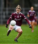 15 November 2020; Lucy Hannon of Galway during the TG4 All-Ireland Senior Ladies Football Championship Round 3 match between Galway and Monaghan at Páirc Seán Mac Diarmada in Carrick-on-Shannon, Leitrim. Photo by Sam Barnes/Sportsfile