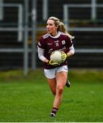 15 November 2020; Megan Glynn of Galway during the TG4 All-Ireland Senior Ladies Football Championship Round 3 match between Galway and Monaghan at Páirc Seán Mac Diarmada in Carrick-on-Shannon, Leitrim. Photo by Sam Barnes/Sportsfile