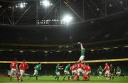13 November 2020; Peter O'Mahony of Ireland during the Autumn Nations Cup match between Ireland and Wales at Aviva Stadium in Dublin. Photo by David Fitzgerald/Sportsfile