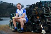17 November 2020; Kevin Moran of Waterford poses for a portrait at Dunmore East during the GAA Hurling All Ireland Senior Championship Series National Launch. Photo by  Sam Barnes/Sportsfile