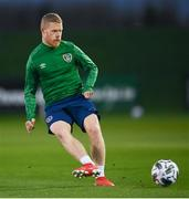 17 November 2020; Daryl Horgan during a Republic of Ireland training session at the FAI National Training Centre in Abbotstown, Dublin. Photo by Stephen McCarthy/Sportsfile