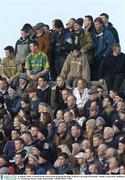 25 January 2004; A Section of the crowd watch on during the game. O'Byrne Cup Final, Westmeath v Meath, Cusack Park, Mullingar, Co. Westmeath. Picture credit; David Maher / SPORTSFILE *EDI*
