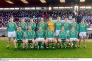 25 January 2004; Meath team. O'Byrne Cup Final, Westmeath v Meath, Cusack Park, Mullingar, Co. Westmeath. Picture credit; David Maher / SPORTSFILE *EDI*
