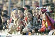 25 January 2004; Young Children watch on during the game. O'Byrne Cup Final, Westmeath v Meath, Cusack Park, Mullingar, Co. Westmeath. Picture credit; David Maher / SPORTSFILE *EDI*