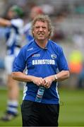 7 July 2013; Laois manager Pat Critchley. Electric Ireland Leinster GAA Hurling Minor Championship Final, Laois v Kilkenny, Croke Park, Dublin. Picture credit: David Maher / SPORTSFILE