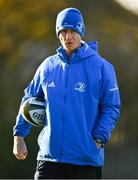 18 November 2020; Leinster head coach Leo Cullen during Leinster Rugby squad training at UCD in Dublin. Photo by Harry Murphy/Sportsfile