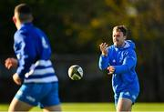 18 November 2020; David Hawkshaw during Leinster Rugby squad training at UCD in Dublin. Photo by Harry Murphy/Sportsfile