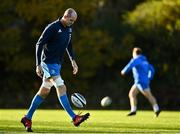 18 November 2020; Devin Toner during Leinster Rugby squad training at UCD in Dublin. Photo by Harry Murphy/Sportsfile
