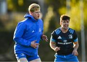 18 November 2020; Jamie Osborne during Leinster Rugby squad training at UCD in Dublin. Photo by Harry Murphy/Sportsfile
