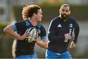 18 November 2020; Jack Dunne, left, and Scott Fardy during Leinster Rugby squad training at UCD in Dublin. Photo by Harry Murphy/Sportsfile