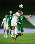 18 November 2020; Cicinho of Bulgaria in action against Daryl Horgan of Republic of Ireland during the UEFA Nations League B match between Republic of Ireland and Bulgaria at the Aviva Stadium in Dublin. Photo by Seb Daly/Sportsfile
