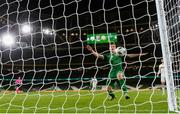 18 November 2020; James Collins of Republic of Ireland has an opportunity on goal during the UEFA Nations League B match between Republic of Ireland and Bulgaria at the Aviva Stadium in Dublin. Photo by Stephen McCarthy/Sportsfile