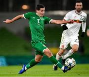 18 November 2020; Josh Cullen of Republic of Ireland during the UEFA Nations League B match between Republic of Ireland and Bulgaria at the Aviva Stadium in Dublin. Photo by Stephen McCarthy/Sportsfile