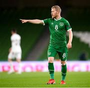 18 November 2020; Daryl Horgan of Republic of Ireland during the UEFA Nations League B match between Republic of Ireland and Bulgaria at the Aviva Stadium in Dublin. Photo by Stephen McCarthy/Sportsfile