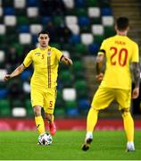 18 November 2020; Ionut Nedelcearu of Romania during the UEFA Nations League B match between Northern Ireland and Romania in the National Football Stadium at Windsor Park in Belfast. Photo by David Fitzgerald/Sportsfile
