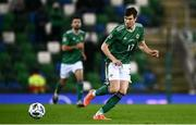 18 November 2020; Paddy McNair of Northern Ireland during the UEFA Nations League B match between Northern Ireland and Romania in the National Football Stadium at Windsor Park in Belfast. Photo by David Fitzgerald/Sportsfile