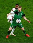 18 November 2020; Daryl Horgan of Republic of Ireland in action against Cicinho of Bulgaria during the UEFA Nations League B match between Republic of Ireland and Bulgaria at the Aviva Stadium in Dublin. Photo by Eóin Noonan/Sportsfile