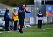 14 November 2020; Wexford manager Davy Fitzgerald during the GAA Hurling All-Ireland Senior Championship Qualifier Round 2 match between Wexford and Clare at MW Hire O'Moore Park in Portlaoise, Laois. Photo by Piaras Ó Mídheach/Sportsfile
