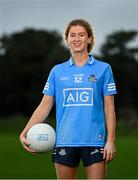 20 November 2020; AIG, the Official Insurance Partner to the Ladies Gaelic Football Association, today launched an exclusive insurance offer for LGFA players and members. Dublin footballer Sarah McCaffrey was on hand to launch the offer ahead of the All-Ireland Championship semi-finals. For exclusive benefits, visit www.aig.ie/lgfa. Photo by Ramsey Cardy/Sportsfile