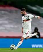 18 November 2020; DimitarIliev of Bulgaria during the UEFA Nations League B match between Republic of Ireland and Bulgaria at the Aviva Stadium in Dublin. Photo by Sam Barnes/Sportsfile