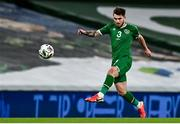 18 November 2020; Ryan Manning of Republic of Ireland during the UEFA Nations League B match between Republic of Ireland and Bulgaria at the Aviva Stadium in Dublin. Photo by Sam Barnes/Sportsfile