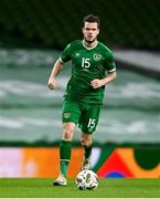 18 November 2020; Kevin Long of Republic of Ireland during the UEFA Nations League B match between Republic of Ireland and Bulgaria at the Aviva Stadium in Dublin. Photo by Sam Barnes/Sportsfile