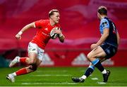 26 October 2020; Mike Haley of Munster during the Guinness PRO14 match between Munster and Cardiff Blues at Thomond Park in Limerick. Photo by Ramsey Cardy/Sportsfile