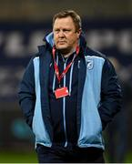 26 October 2020; Cardiff Blues head coach John Mulvihill ahead of the Guinness PRO14 match between Munster and Cardiff Blues at Thomond Park in Limerick. Photo by Ramsey Cardy/Sportsfile