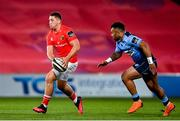26 October 2020; Dan Goggin of Munster during the Guinness PRO14 match between Munster and Cardiff Blues at Thomond Park in Limerick. Photo by Ramsey Cardy/Sportsfile