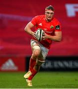 26 October 2020; Gavin Coombes of Munster during the Guinness PRO14 match between Munster and Cardiff Blues at Thomond Park in Limerick. Photo by Ramsey Cardy/Sportsfile
