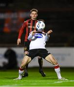 20 November 2020; Stefan Colovic of Dundalk during the Extra.ie FAI Cup Quarter-Final match between Bohemians and Dundalk at Dalymount Park in Dublin. Photo by Stephen McCarthy/Sportsfile