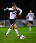 20 November 2020; Sean Gannon of Dundalk during the Extra.ie FAI Cup Quarter-Final match between Bohemians and Dundalk at Dalymount Park in Dublin. Photo by Stephen McCarthy/Sportsfile