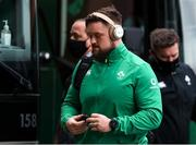 21 November 2020; Andrew Porter of Ireland arrives ahead of the Autumn Nations Cup match between England and Ireland at Twickenham Stadium in London, England. Photo by Matt Impey/Sportsfile