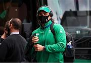 21 November 2020; Quinn Roux of Ireland arrives ahead of the Autumn Nations Cup match between England and Ireland at Twickenham Stadium in London, England. Photo by Matt Impey/Sportsfile