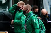 21 November 2020; Keith Earls of Ireland arrives prior to the Autumn Nations Cup match between England and Ireland at Twickenham Stadium in London, England. Photo by Matt Impey/Sportsfile