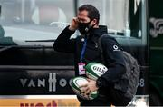21 November 2020; Ireland head coach Andy Farrell arrives prior to the Autumn Nations Cup match between England and Ireland at Twickenham Stadium in London, England. Photo by Matt Impey/Sportsfile